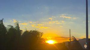 por do sol em brasilia
